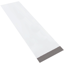 """Office Depot® Brand 18"""" x 51"""" Long Poly Mailers, White, Case Of 25 Mailers"""