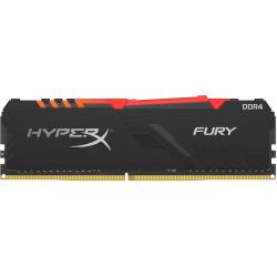 Kingston FURY 8GB DDR4 SDRAM Memory Module - 8 GB (1 x 8 GB) - DDR4-3466/PC4-27700 DDR4 SDRAM - 3466 MHz - 1.35 V - Non-ECC - Unbuffered - 288-pin - DIMM