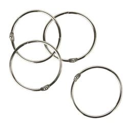"Office Depot® Brand Loose-Leaf Rings, 2"" Diameter, Box Of 50"