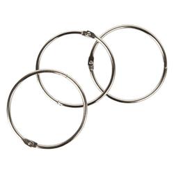 "Office Depot® Brand Loose-Leaf Rings, 3"" Diameter, Box Of 10"