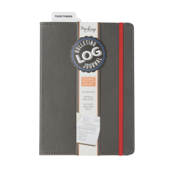 "Markings by C.R. Gibson® Bulletin Log Journal, 6"" x 8 1/2"", 240 Pages (120 Sheets), Gray"
