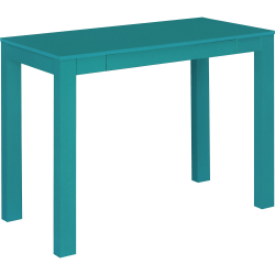 Ameriwood™ Home Parsons Desk With Drawer, Teal
