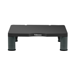 """Fellowes® Monitor Riser, 4""""H x 13 1/8""""W x 13 1/2""""D, Graphite"""