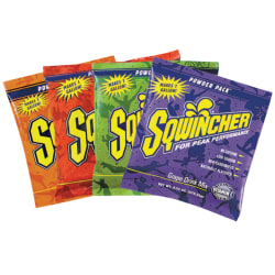 Sqwincher Powder Packs™, Fruit Punch, 9.53 Oz, Case Of 80