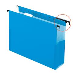 """Pendaflex® SureHook® Pocket Reinforced Box Files, 2"""" Expansion, Letter Size, Blue, Pack Of 25"""