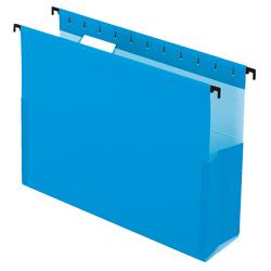 """Pendaflex® SureHook® Pocket Reinforced Box Files, 3"""" Expansion, Letter Size, Blue, Pack Of 25"""
