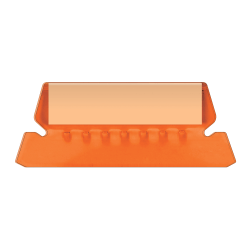 Pendaflex® Hanging File Folder Plastic Tabs, Orange, Pack Of 25