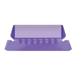 Pendaflex® Hanging File Folder Plastic Tabs, Violet, Pack Of 25