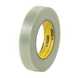 """3M® 898 Strapping Tape, 2"""" x 60 Yd., Clear, Case Of 24"""