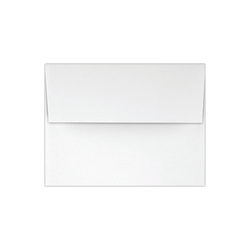 """LUX Invitation Envelopes With Peel & Press Closure, A2, 4 3/8"""" x 5 3/4"""", White, Pack Of 1,000"""