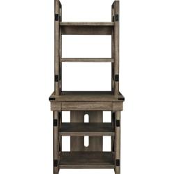 Ameriwood™ Home Wildwood Audio Stand/5-Shelf Bookcase, Black/Brown