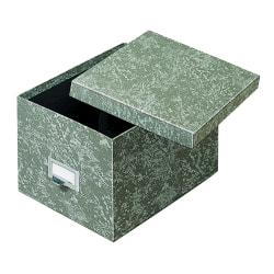 "Globe Weis® Index Card Storage Tray, 6"" x 9"", 70% Recycled, Green"
