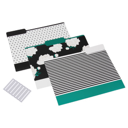 See Jane Work® File Folders, Letter Size, Floral, Pack of 6 Folders
