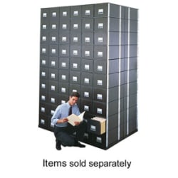 "Bankers Box® Metal Base, Letter Size, 2 1/2"" x 13 7/8"" x 25 3/8"""