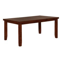 "Powell Reso Dining Table, 30""H x 66""W x 42""D, Rustic Walnut"