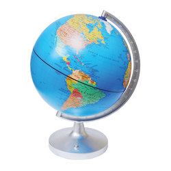 "Elenco Electronics Dual Cartography LED Illuminated Globe, 12"" x 12"""
