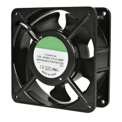 StarTech.com 12cm AC Fan Kit for Server Rack Cabinet - 120mm - 3050rpm 1 x Ball Bearing