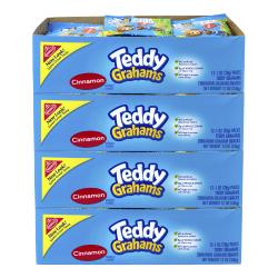 Nabisco Honey Maid Teddy Graham Snacks, Honey, 1 Oz, Pack Of 48 Pouches