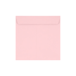 "LUX Square Envelopes With Peel & Press Closure, 7 1/2"" x 7 1/2"", Candy Pink, Pack Of 500"