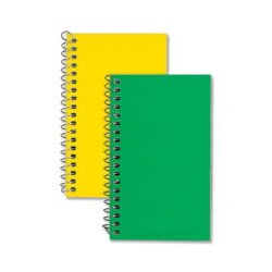 "Rediform Spiralbound Memo Book - 60 Sheets - Spiral - 3"" x 5"" - Bright White Paper - Assorted Cover - 1Each"