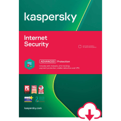 Kaspersky® Internet Security 3-Users 1 year