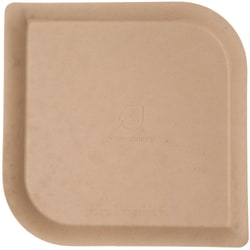 """Eco-Products Dahlia Sugarcane/Bamboo Plates, 9"""", Brown, Pack Of 400 Plates"""