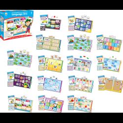Carson-Dellosa CenterSOLUTIONS® File Folder Games — Language Arts, Grade Kindergarten, Box Of 16