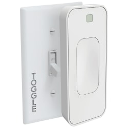 """Switchmate Bright Toggle Smart Light Switch, 4-3/4""""H x 1-13/16""""W x 2""""D, White"""