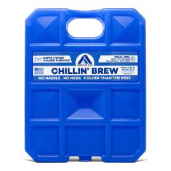 Arctic Ice Chillin' Brew Reusable Freezer Pack, 1.5 Lbs., Blue