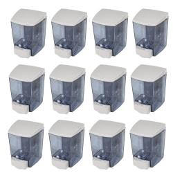 Encore Soap Dispenser - Manual - 1.44 quart Capacity - White, Clear - 12 / Carton