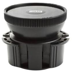 USA Gear GEAR-CUPMOUNT Vehicle Mount for GPS, Smartphone, Media Player - Plastic - Black