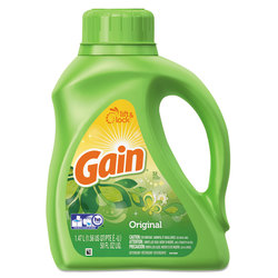 Gain® Liquid Laundry Detergent, Original, 50 Oz, Pack Of 6