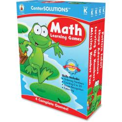 Carson-Dellosa CenterSOLUTIONS™ Learning Games, Math, Grade 1