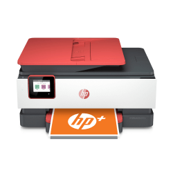 HP OfficeJet Pro 8035e All-in-One Wireless Color Printer (Coral) With HP+
