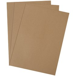 "Office Depot® Brand Chipboard Pads, 24"" x 36"", 100% Recycled, Kraft, Case Of 110"