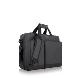 """Solo New York Duane 15.6"""" Hybrid Backpack Briefcase, Gray"""