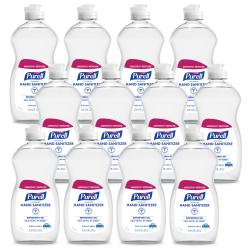 Purell® Advanced Hand Sanitizer Gel,12.6 Oz Bottle, Case Of 12
