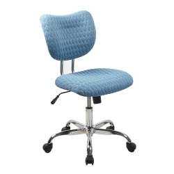 Realspace Jancy Quilted Fabric Low-Back Task Chair Deals