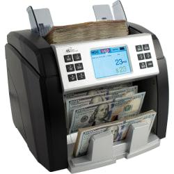 Royal Sovereign RBC-EP1600 Bank Grade Counter - 600 Bill Capacity - Counts 1500 bills/min - Sorts - coins/minBlack