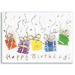 """Custom All Occasion Cards, Birthday Gifts Cards With Envelopes, 7-7/8"""" x 5-5/8"""", Pack Of 25 Cards And Envelopes"""