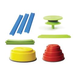 GONGE Build N' Balance 13-Piece Intermediate Set, Multicolor