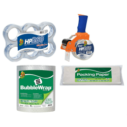 Duck® Brand Medium Mailroom Pack And Ship Bundle