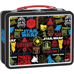 Thermos K43415006 Metal Lunch Box, Star Wars - Metal, Plastic Handle