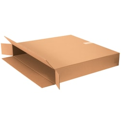 "Office Depot® Brand Side Loading Corrugated Cartons, 30"" x 5"" x 30"", Kraft, Pack Of 10"