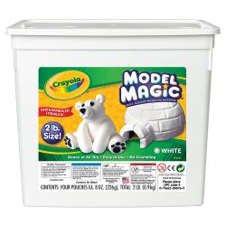 Crayola® Model Magic®, 2 Lb, Bucket Of White