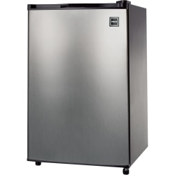 RCA® 4.6 Cu Ft Refrigerator, Stainless Steel