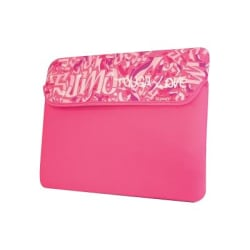 "SUMO Graffiti 8.9"" Netbook Sleeve - 7.75"" x 10.5"" x 1"" - Neoprene - Pink"