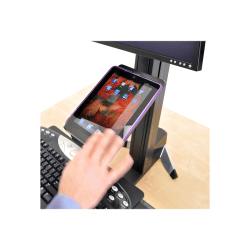 "Ergotron 97-558-200 Tablet/ Document Holder - 10.7"" x 7.3"" x 1.5"" x - Plastic - Black"