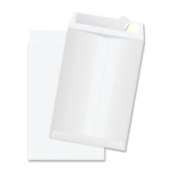 "Survivor® DuPont™ Tyvek® Padded Mailers, 10"" x 13"", White, Box Of 25"