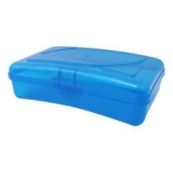 """Cra-Z-Art Plastic School Box, 2-3/16""""H x 5-3/16""""W x 8""""D, Assorted Colors"""